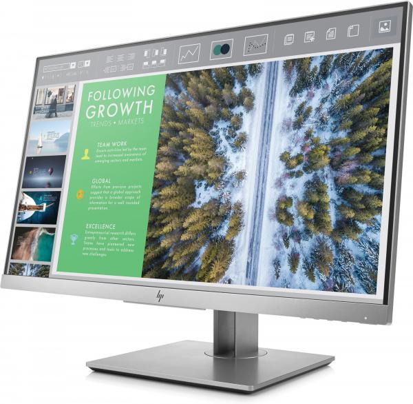 "Monitor LED IPS HP EliteDisplay E243 23.8"", Full HD, Display Port, Negru ( 152084 ) [1]"