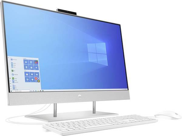 Sistem All-in-one PC HP 27-dp0001ng 27 inch AMD Ryzen ™ 3 4300U 8 GB 512 GB SSD AMD Radeon Vega 8 Graphics Windows 10 HOME 2