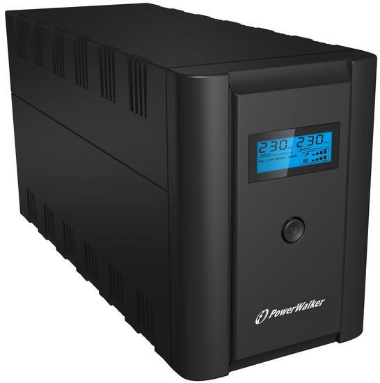 UPS Powerwalker Line-interactiv 2200VA / 1200W Indicator LCD 2 x 12V / 9Ah ups-lint-vi2200shl-pw [0]