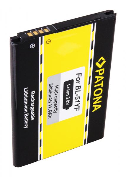 Acumulator Patona pentru LG G4 BL-51YF DS1402 G4 G4 Dual SIM G4 Dual-LTE H810 H811 H815T 2