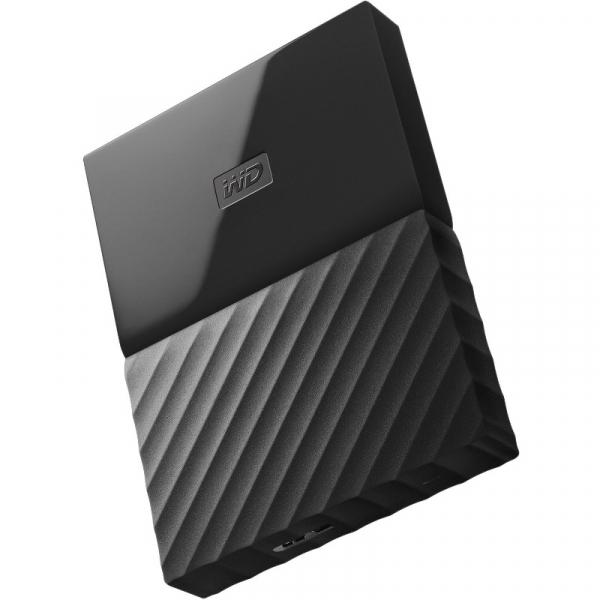 Hard disk extern WD My Passport New 1TB Black USB 3.0 0