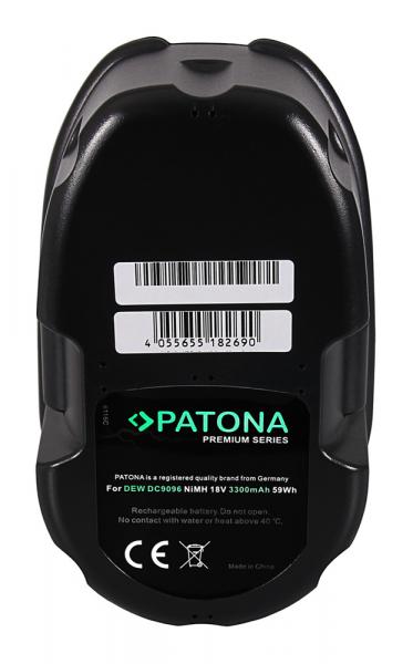 Acumulator Patona Premium pentru Dewalt DC9096 DC212KB DC212N Dewalt BSA82KA DC010 DC019 2