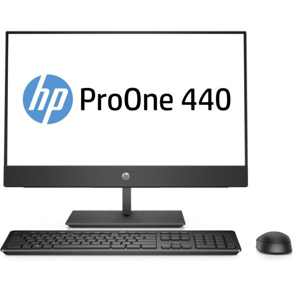 Sistem All-in-One HP ProOne 440 G4 AiO 4HS10EA 60,5cm (23,8 inch) FHD-Display - Intel i5-8500T, 16GB RAM, 512GB SSD, Intel UHD 0