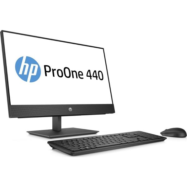 Sistem All-in-One HP ProOne 440 G4 AiO 4HS10EA 60,5cm (23,8 inch) FHD-Display - Intel i5-8500T, 16GB RAM, 512GB SSD, Intel UHD 1