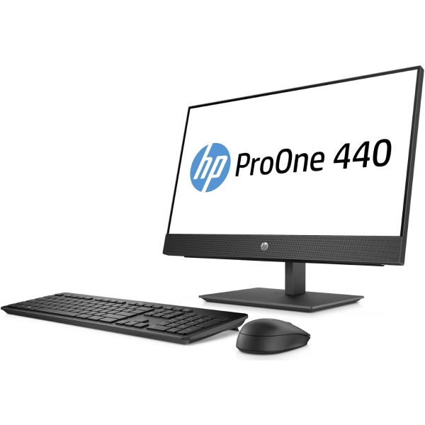 Sistem All-in-One HP ProOne 440 G4 AiO 4HS10EA 60,5cm (23,8 inch) FHD-Display - Intel i5-8500T, 16GB RAM, 512GB SSD, Intel UHD 2