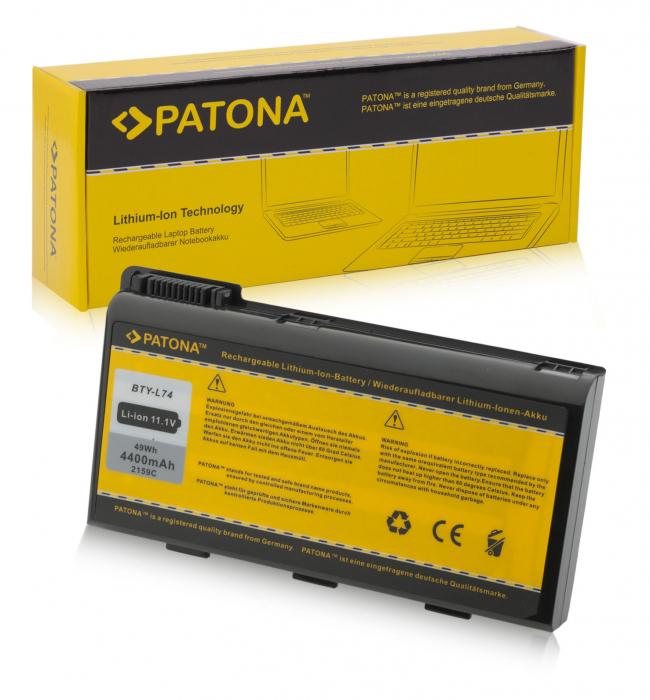 Acumulator Patona pentru MSI A5000 A6000 A6200 CR600 CR620 CR700 CX700 BTY-L74 BTY-L75 MS-1682 0