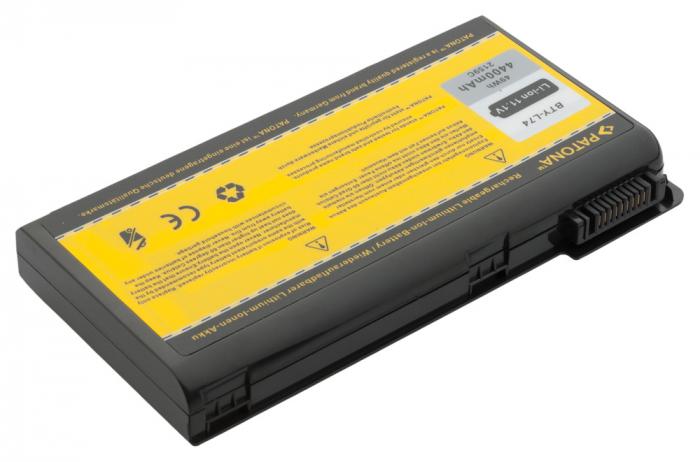 Acumulator Patona pentru MSI A5000 A6000 A6200 CR600 CR620 CR700 CX700 BTY-L74 BTY-L75 MS-1682 2