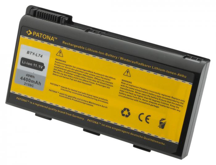 Acumulator Patona pentru MSI A5000 A6000 A6200 CR600 CR620 CR700 CX700 BTY-L74 BTY-L75 MS-1682 1