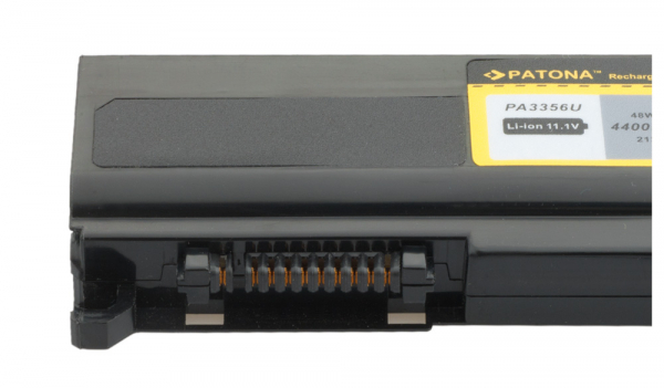 Acumulator Patona pentru Toshiba Qosmio F20 F25, Satellite A50 A55 4400mAh 3