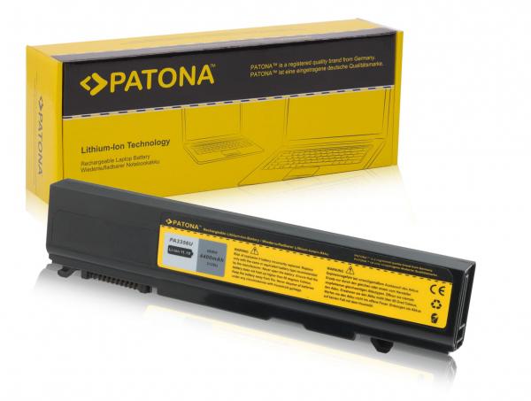 Acumulator Patona pentru Toshiba Qosmio F20 F25, Satellite A50 A55 4400mAh 4