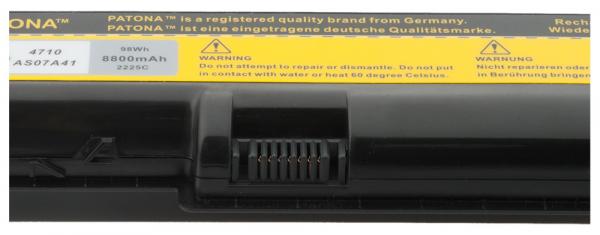Acumulator Patona pentru Acer AS07A31 AS07A41 AS07A51 AS07A52 AS07A71 2