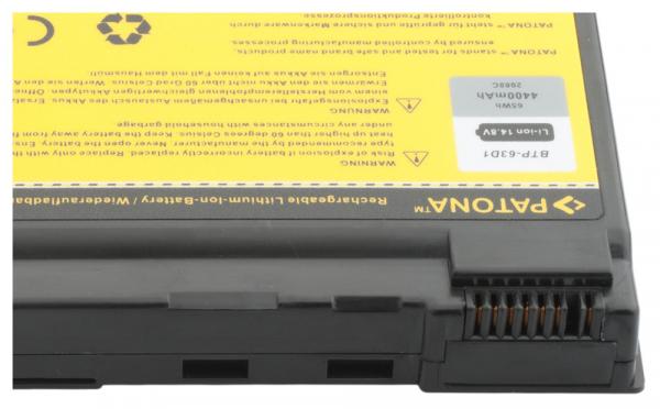 Acumulator Patona pentru Acer Aspire 3020 Aspire 3020LMi 3020WLMi 3021WLMi 2