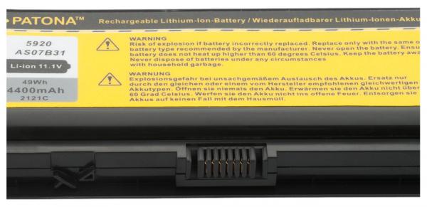 Acumulator Patona pentru Acer Aspire ASOB741 Aspire 5310 5720 5920 5920658 [2]