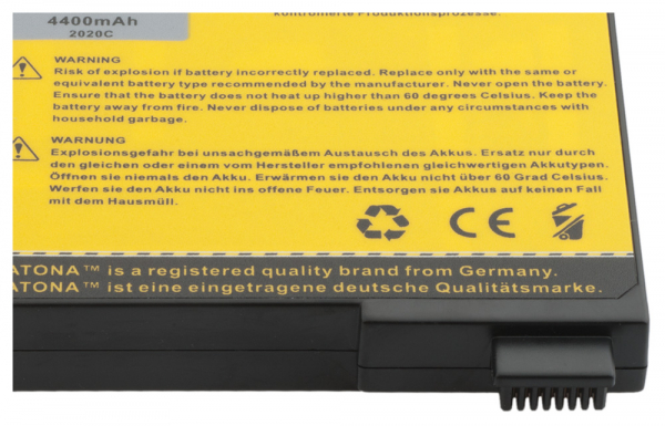 Acumulator Patona pentru Fujitsu Siemens Amilo A7620 Amilo 8620 755x A7620 2