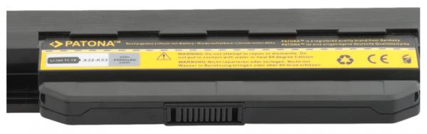 Acumulator Patona pentru Asus A32-K53 A A43B A43BR A43BY A43E A43F A43J [2]