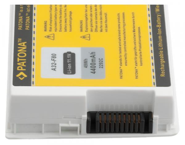 Acumulator Patona pentru Asus A32-F80 F F80A F80H F81 F83 A32-F80 X X61GX 2