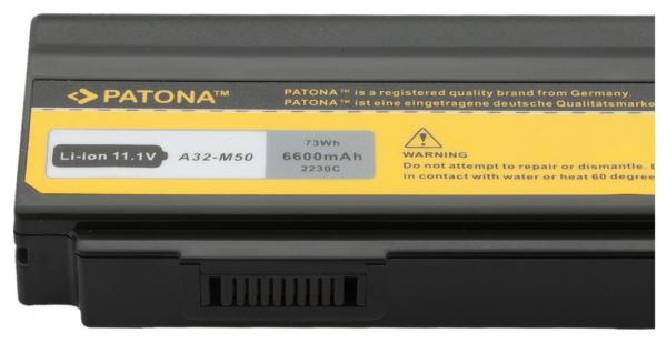 Acumulator Patona pentru Asus A32-M50 G50 G50VT G60 G60VX G60VXRBBX05 2