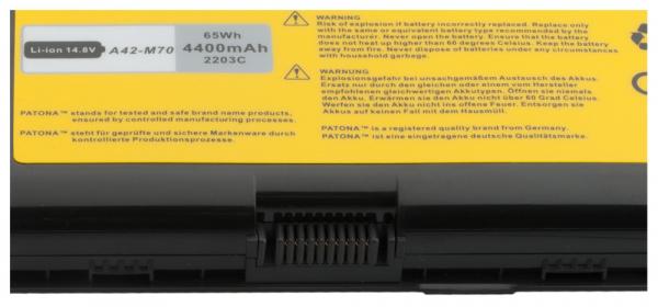 Acumulator Patona pentru Asus A32-F70 A41-M70 A42-M70 L0690LC L082036 [2]