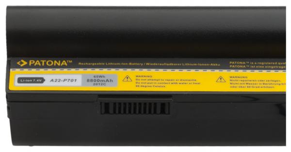 Acumulator Patona pentru Asus Eee PC 700 701 900 EEE PC 700X / RU Eee PC 12G 2