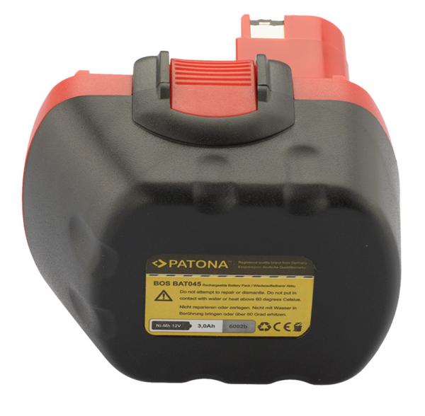 Acumulator Patona pentru Bosch BAT043 22612 23612 3360 3360K 3455 3455-01 32612 2