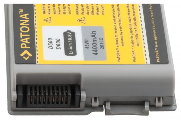 Acumulator Patona pentru Dell D500 Inspiron 500M 505M 510M 600M D500 2