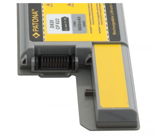 Acumulator Patona pentru Dell D531 Latitudine D531 D531N D820 D830 D531 [2]