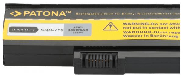 Acumulator Patona pentru Gateway SQU-719 M M-14 M1400 M-1400 M1408j M-1408J [2]