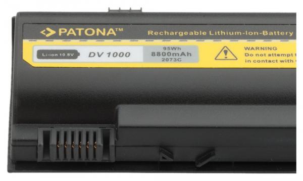 Acumulator Patona pentru HP Business Notebook DV1000 b1000 nx4800 nx7100 2
