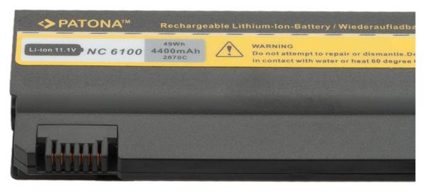 Acumulator Patona pentru HP NC6100 Compaq 6310 6700 6110 / CT 6110CT 6510b [2]