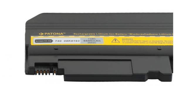 Acumulator Patona pentru IBM T40 ThinkPad R50 R51 T40 T41 T42 T43 2