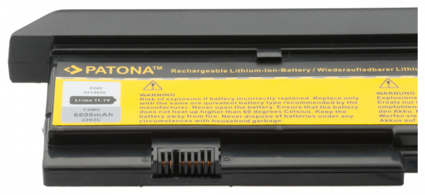 Acumulator Patona pentru Lenovo X200 Thinkpad X200 X200s [2]