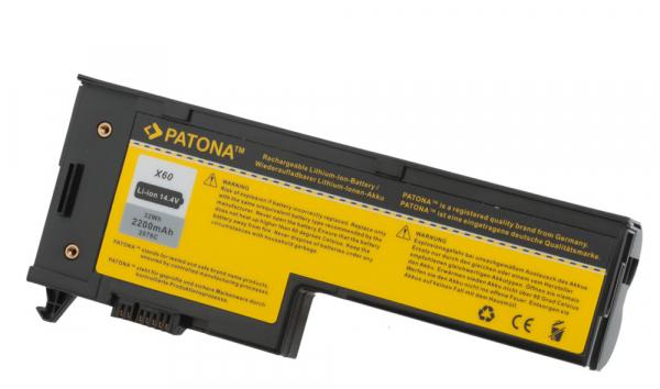 Acumulator Patona pentru Lenovo X60 ThinkPad 1702 1703 1704 1705 1706 1707 0