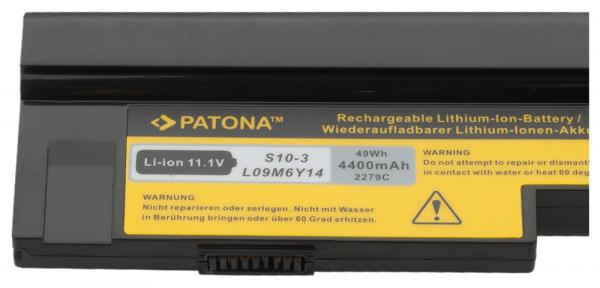 Acumulator Patona pentru Lenovo Lenovo IdeaPad S10-3 S10-3s U160 U165 negru 2