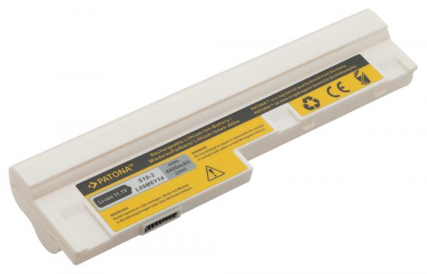 Acumulator Patona pentru Lenovo Lenovo IdeaPad S10-3 S10-3s U160 U165 alb 1