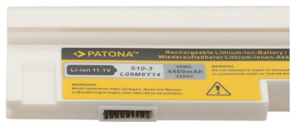 Acumulator Patona pentru Lenovo Lenovo IdeaPad S10-3 S10-3s U160 U165 alb 2