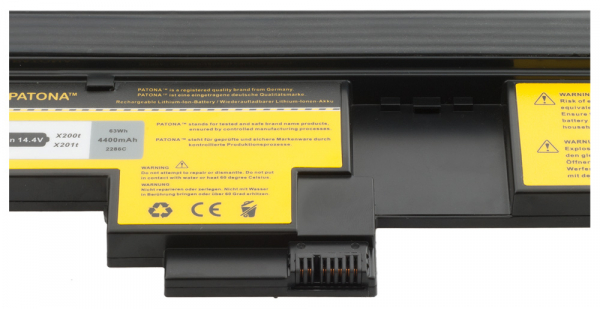 Acumulator Patona pentru Tableta Lenovo X200 Tableta ThinkPad X200 PC X201 [2]