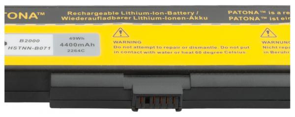 Acumulator Patona pentru HP LM6 Compaq Presario B2004AP B2005AL B2006AL 2