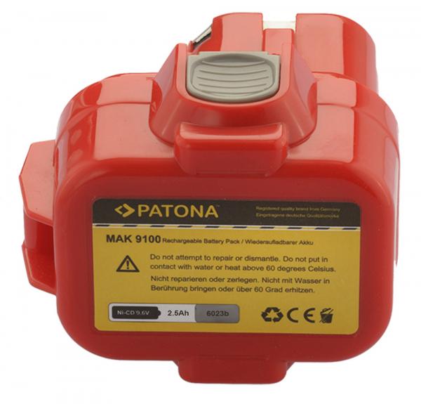 Acumulator Patona pentru Makita 9001 809432 ML121 ML122 ML901 ML903 (lanternă) 2