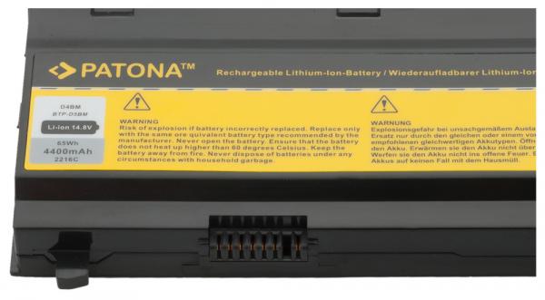 Acumulator Patona pentru Medion BTP-D5BM 40029778 40029779 Akoya E7211 E7212 2