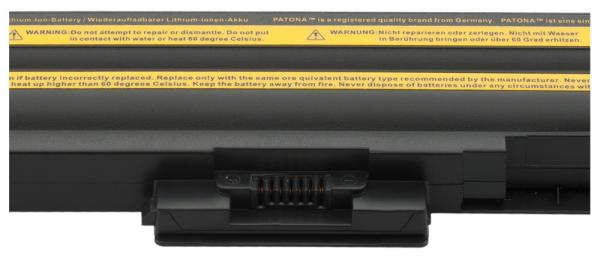 Acumulator Patona pentru Sony BPS13 fără CD negru VGN AW21M / H AW21MH 2