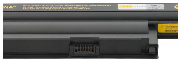 Acumulator Patona pentru Sony VGP-BPS22 VPC EA100C EA15FG EA16EC EA18EC 2