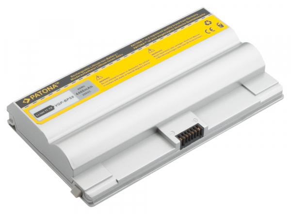 Acumulator Patona pentru Sony BPS8 argintiu fără CD VGN FZ11Z FZ130E [1]
