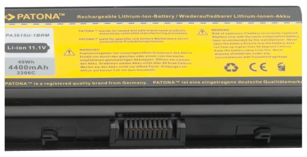 Acumulator Patona pentru Toshiba L40 Equium L4014I L40-14I L40156 L40-15 [2]