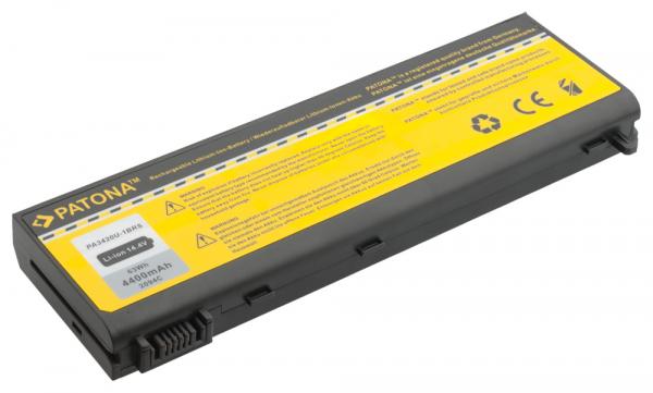 Acumulator Patona pentru TOSHIBA Satellite L100 negru Equium L20197 L20-197 1