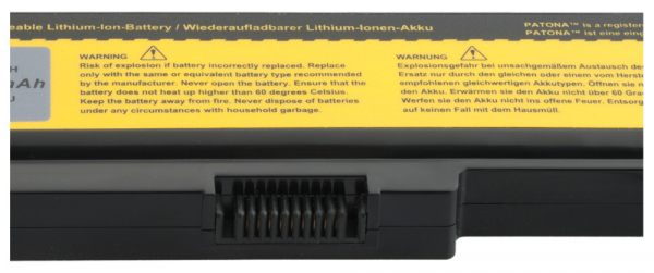 Acumulator Patona pentru Toshiba PA3634 Equium U400124 U400-124 U400145 2