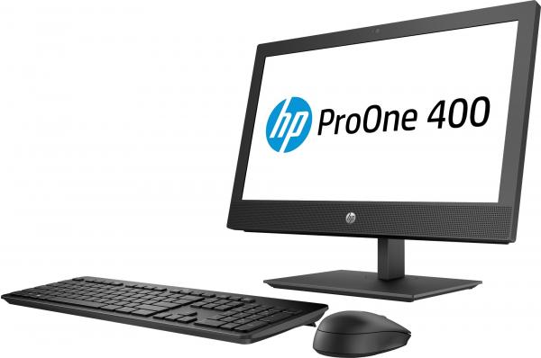 "All-in-One HP ProOne 400 G4 AiO, 20 "", i5-8500T, RAM 8GB DDR4, SSD M.2 256GB, WIndows 10 Pro, Tastatura in limba Germana 2"