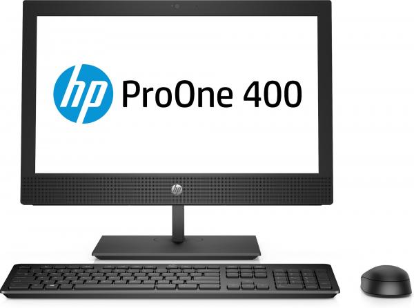 "All-in-One HP ProOne 400 G4 AiO, 20 "", i5-8500T, RAM 8GB DDR4, SSD M.2 256GB, WIndows 10 Pro, Tastatura in limba Germana 0"