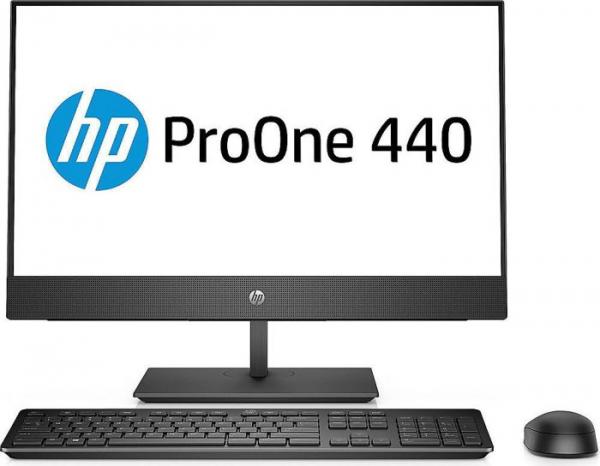 """All-in-One HP ProOne 440 G4 AIO,23,8 """" FHD(1920x1080), i5-8500T, RAM 8GB DDR4, SSD 256 GB M.2 PCIe, Windows 10 Pro, tastatura in limba Germana 0"""