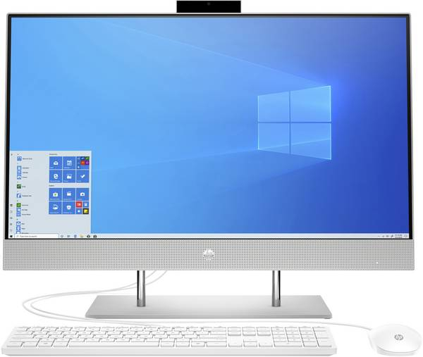 Sistem All-in-One PC HP 27-dp0400ng AMD Ryzen™ 5 4500U up to 4,0 GHz, 16 Gb DDR4, 512 Gb SSD, AMD Radeon™ Graphics 1