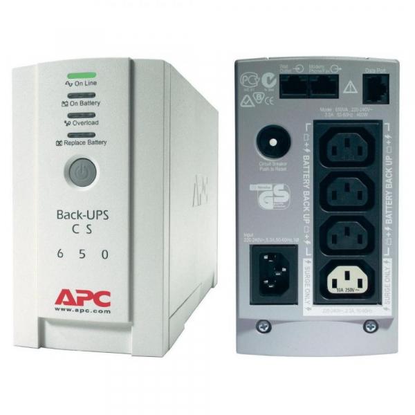 APC BackUPS CS 650VA USB SER USV 230V 0